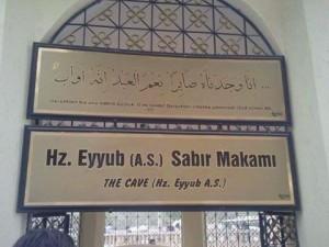 Hz Eyyup A.S Sabır Makamı