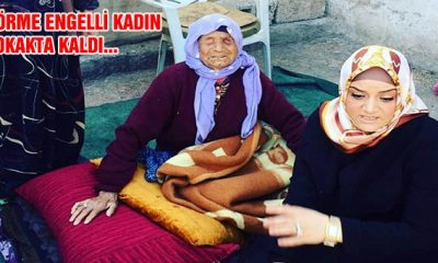 Yaşlı Kadına Eyyübiye Belediyesi Sahip Çıktı