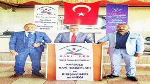 KAVİ-DER Açılışından Kareler