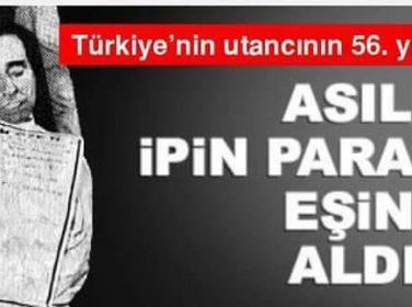 Türkiyenin Utancının 56. Yılı