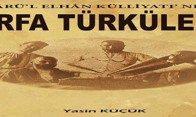 Dârü'l Elhân Külliyatı'nda Urfa Türküleri
