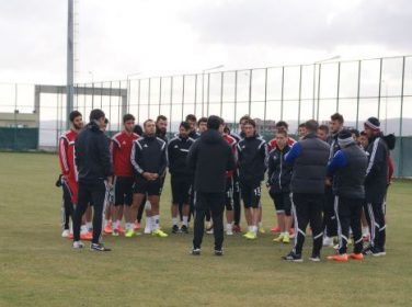 ŞanlıurfaSpor Bandırmaspor Maç Hazırlığı Bitti