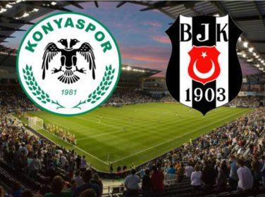 Konyaspor 1 – 1 Beşiktaş Maç özeti