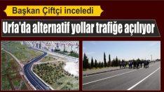 Şanlıurfa'da alternatif yollar trafiğe açılıyor