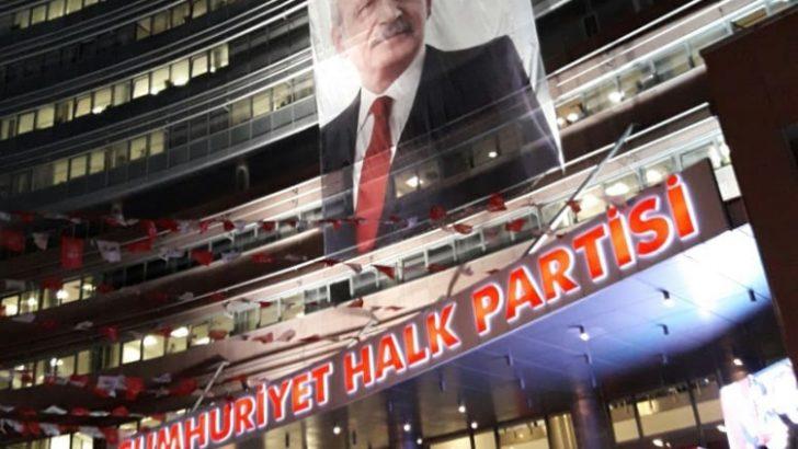 CHP Genel merkezinde seçmen protestosu