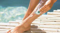 Bacaklarınızı tıraş ederken en sık görülen hatalar