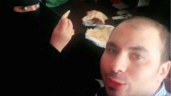Suudi bir kadınla kahvaltı