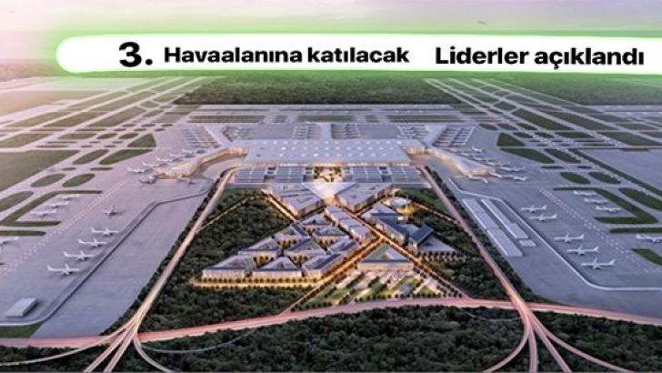 Dünyanın en büyük havalimanına rekor katılım.