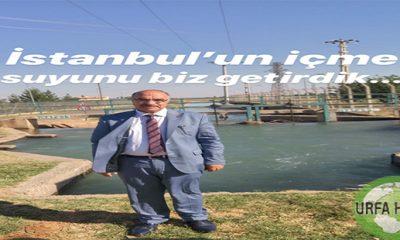 POLAT İstanbul'un içme suyunu DP getirdi