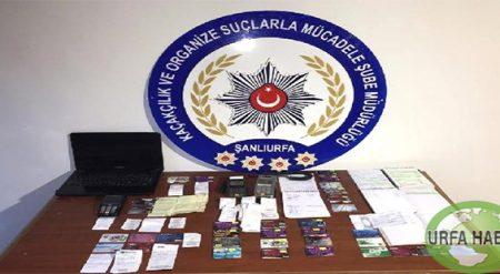 Şanlıurfa'da Tefecilere Operasyon: 8 Tutuklama