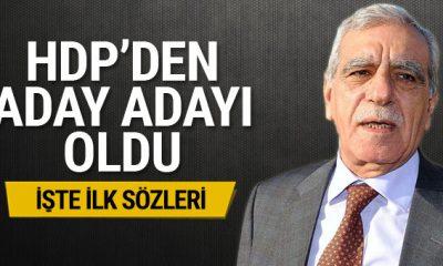 Ahmet Türk, HDP'den aday adayı odu