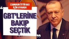 AK Parti belediye başkan adaylarının GBT'sine bile bakıyor Erdoğan açıkladı