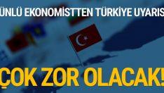 Ekonomist Mahfi Eğilmez'den Türkiye uyarısı! Çok zor olacak