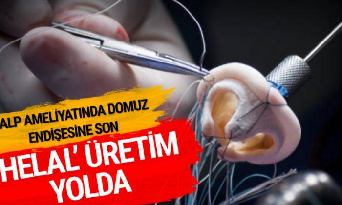 Kalp ameliyatları için 'helal' üretim başlıyor