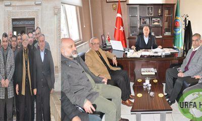 Chp heyeti Viranşehir ziraat odasında