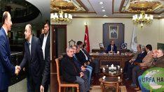 Demokrat parti yeni yönetimi Vali ERİN'ni ziyaret etti