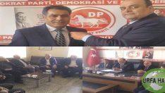DP teşkilat başkan yardımcısı CÖMERT Şanlıurfa'ya geldi.