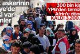 300 bin Suriyeli ülkesine geri döndü