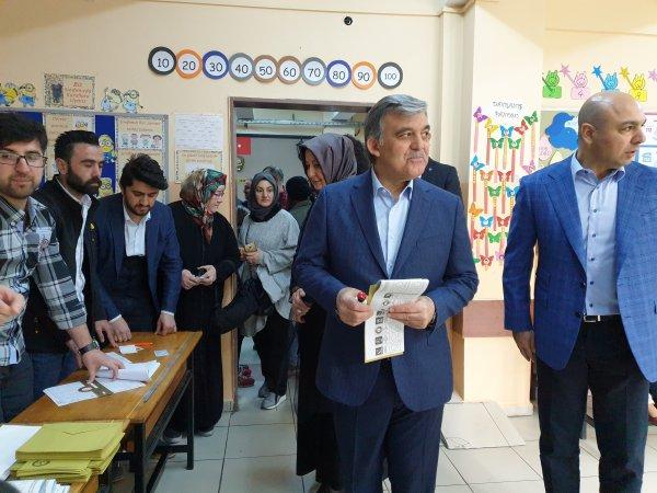 Abdullah Gül oyunu Beykoz'da kullandı