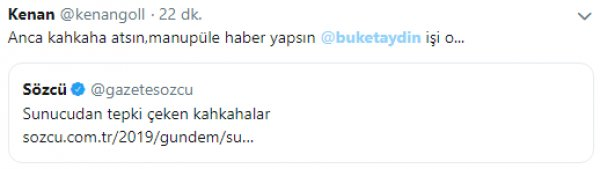 Buket Aydın'ın kahkahaları CHP'lileri kızdırdı