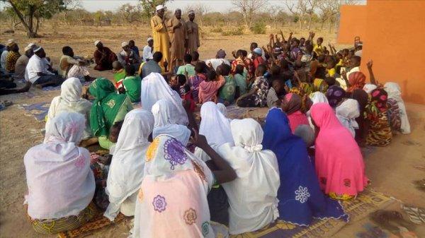 Burkina Faso'da 100 kişi Müslüman oldu