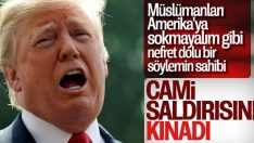 Trump, Yeni Zelanda saldırısını kınadı