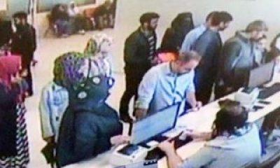 Görevliye tokat atan Suriyeli kaçarken canından oluyordu