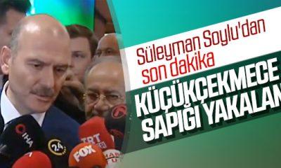 İçişleri Bakanı: Küçükçekmece sapığı yakalandı