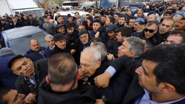 Kılıçdaroğlu'na saldıranlar yakalandı