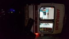 Şanlıurfa'da ambulans ile otomobil çarpıştı: 8 yaralı