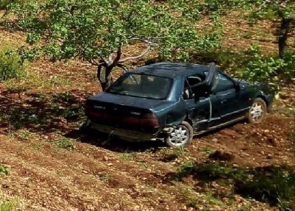 Şanlıurfa'da lastiği patlayan otomobil devrildi: 7 yaralı