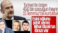 Bakan Soylu'nun sözlerine Nihal Olçok cevap verdi