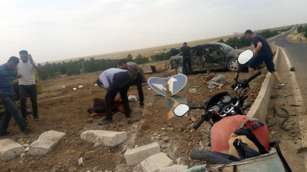 Şanlıurfa'da trafik kazası: 1 ölü, 7 yaralı