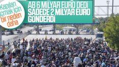 Avrupa Birliği Türkiye'ye verdiği sözü yerine getirmedi