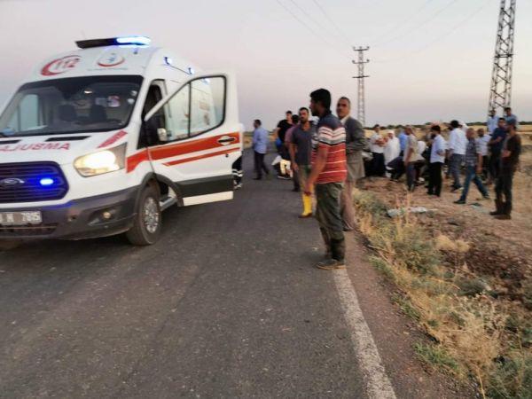 Şanlıurfa'da otobüs devrildi