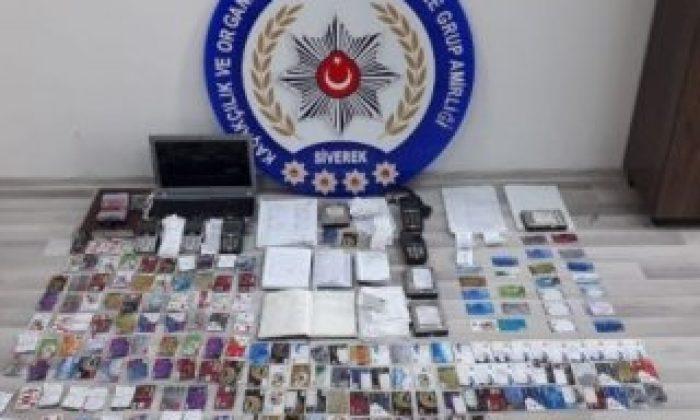 Şanlıurfa'da tefecilere yönelik operasyon: 12 gözaltı