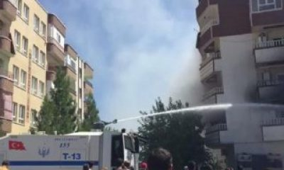 Şanlıurfa'da yangına TOMA müdahalesi