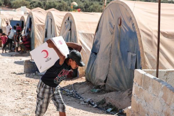 Atme Kampı'na yerleşen Suriyeli sayısı artıyor