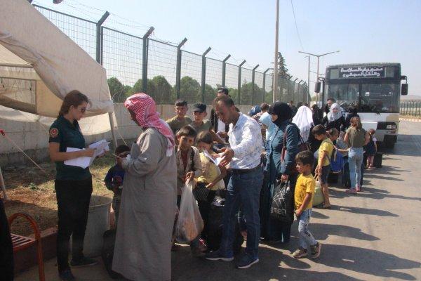 Bayram dönüşü yapan Suriyeli sayısı 39 bin oldu