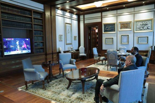 Erdoğan'dan Rıza Kayaalp'e tebrik telefonu