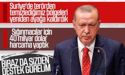 Erdoğan'dan Suriye'yi kalkındırma açıklaması