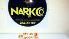 Gaziantep'te valizde uyuşturucu sevkıyatına polis darbesi