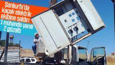 Şanlıurfa'da elektirik ekibine saldırı