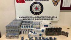 Adıyaman'da bin 290 adet kaçak sigara ele geçirildi