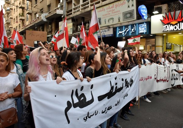 Lübnan'da protestocular eylemlere devam ediyor