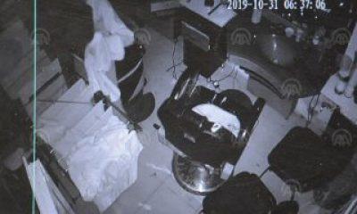 Şanlıurfa'da hırsızlık kameralara yakalandı