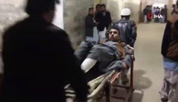 Pakistan'da bir camiye bombalı saldırı düzenlendi