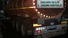 Şanlıurfa'da kaçak akaryakıt operasyonu