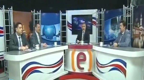 Urfa'da depreme canlı yayında yakalanan sunucu