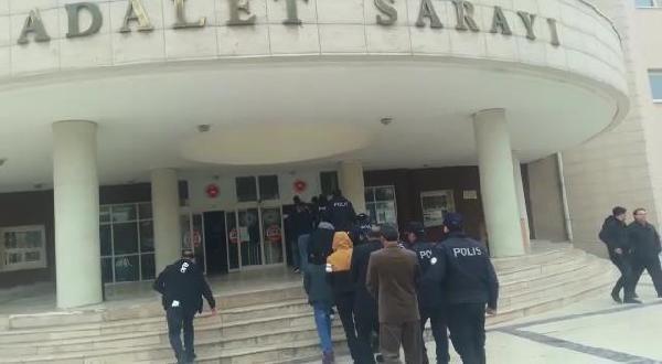 Şanlıurfa'da torbacı operasyonunda 8 kişi tutuklandı
